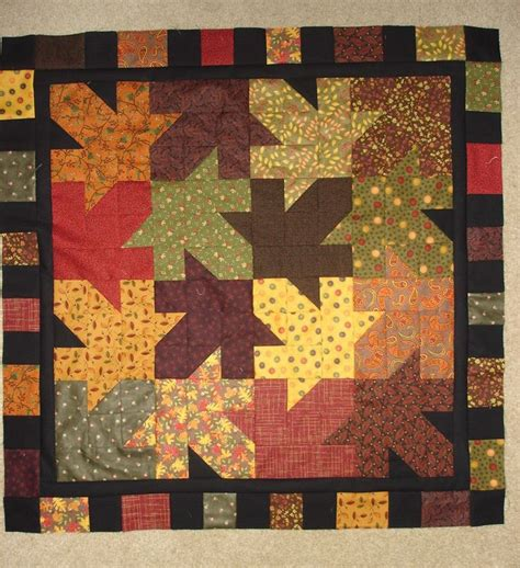 quilt pattern leaves instructions pattern only falling leaves quilt 37 inches