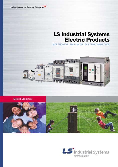 low voltage ls low voltage circuit breakers contactors general leaflet ls