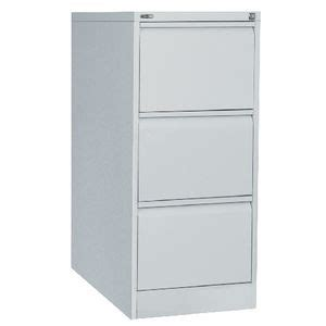 Go Filing Cabinet Go 3 Drawer Filing Cabinet Silver Officeworks