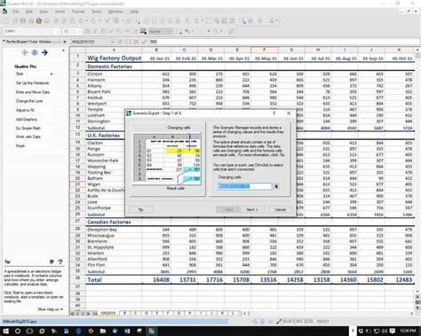 Quattro Pro Spreadsheet by Corel Wordperfect Office X8 Slide 9 Slideshow From