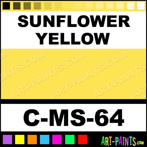 sunflower yellow moroccan sand ceramic paints c ms 64 sunflower yellow paint sunflower