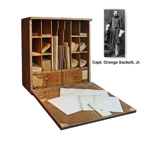 desk in a box pdf diy civil war officers field desk coffee