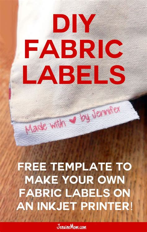Inkjet Printable Fabric Labels | 25 best ideas about fabric labels on pinterest printer