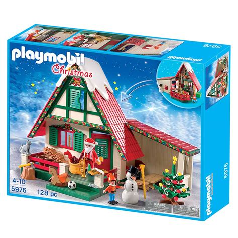 playmobil santa s home toys