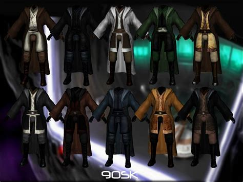 jedi robes kotor 90sk s jedi master robes at wars knights of the