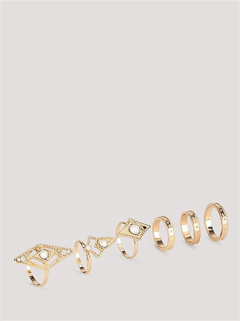 Pipa Ac Set Isolasi 1438 buy pipa set of 6 rings for s gold rings in india