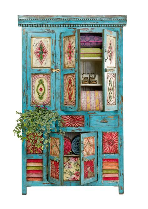 Boho Style Furniture | summer boho chic decorating ideas decoholic