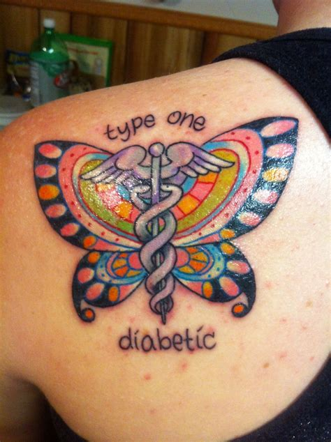 diabetic tattoos designs i m gonna get the butterfly cover up on my diabetic