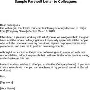 Thank You Letter Boss And Colleagues When Leaving Company farewell letter for excel pdf and word
