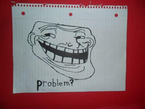 Hands On Face Meme - hand drawn troll face meme comic by thepyroassassin on