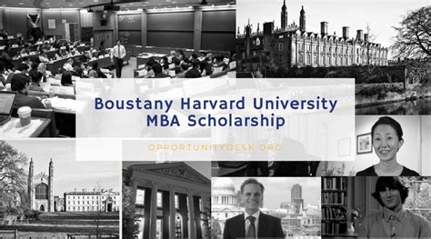 Mba Scholarship 2017 by Boustany Foundation Harvard Mba Scholarship