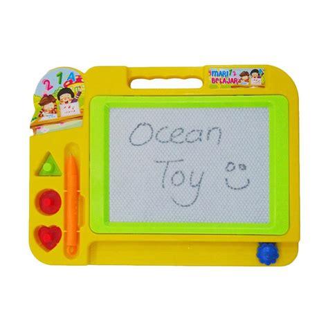 Mainan Papan Tulis Hapus Termurah jual oct0016 papan tulis mainan anak multicolor harga kualitas terjamin