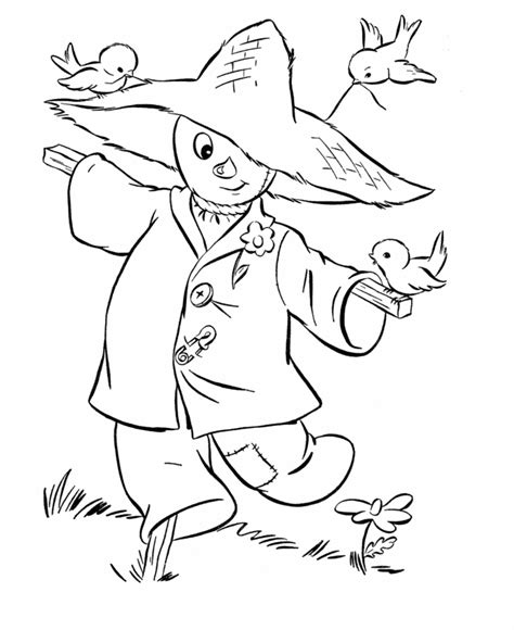 printable fall and halloween coloring pages free coloring pages of autumn themed