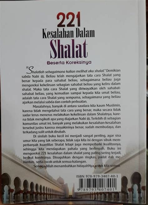 Murah 221 Kesalahan Dalam Shalat buku 221 kesalahan dalam shalat toko muslim title