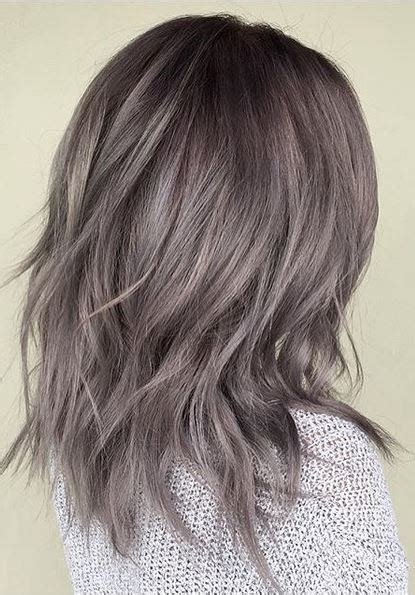 metallic hair color metallic gray hair color brown hairs
