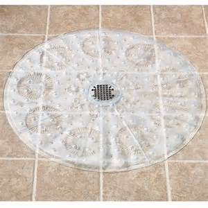 non slip clear shower mat no slip shower mats walter
