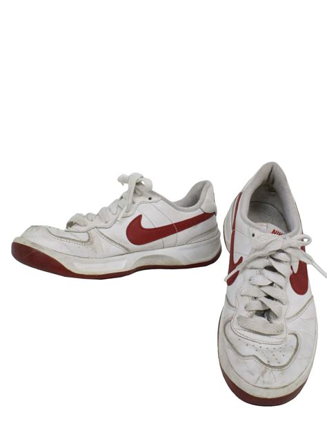 nike flat bottom shoes mens 1990s vintage shoes 90s nike mens white with swoosh