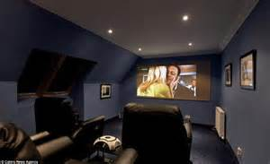 The property also has a cinema room for those who decide that going to