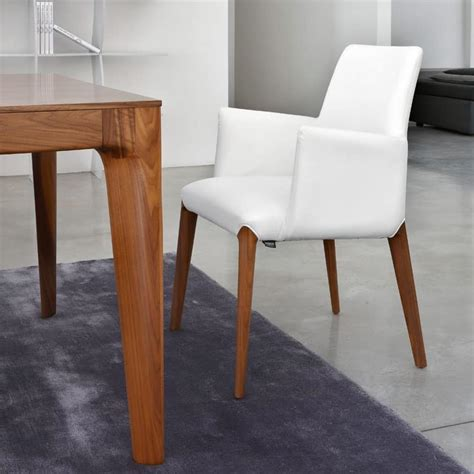 Small Modern Armchair by Modern Small Armchair Padded Wooden Legs Idfdesign