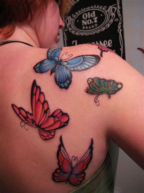 Top 5 Sexiest Shoulder Tattoo Designs For Women At Tattoo Butterfly Tattoos On Shoulder Blade