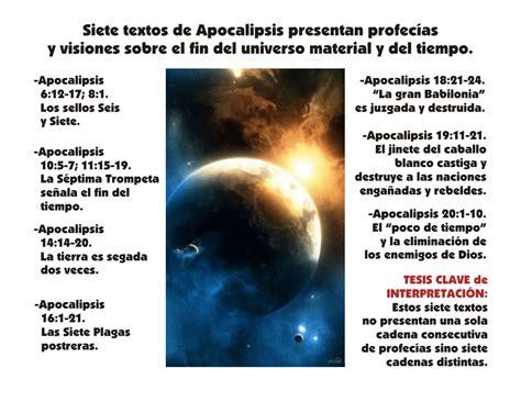 apocalipsis siete profec 237 as principales sobre el fin del - Preguntas Biblicas Sobre El Apocalipsis