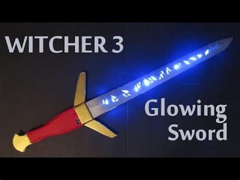 make a witcher 3 sword make a witcher 3 sword with glowing runes