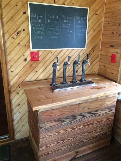 reddit basement living room keg tap new kegerator design reclaimed wood and pipe kegerators basements and taps