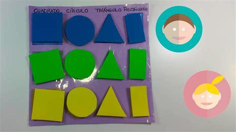 figuras geometricas de colores material did 225 ctico aprender los colores y las formas