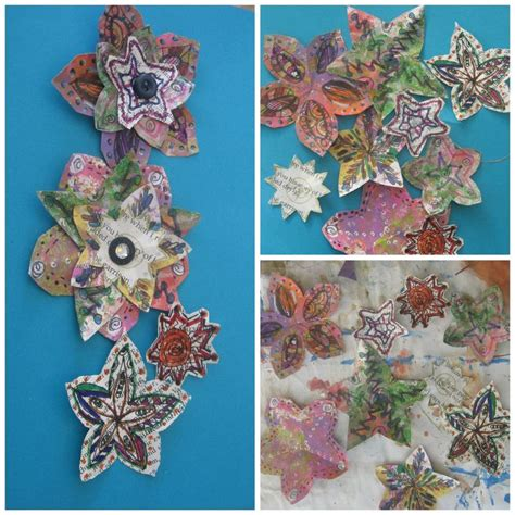 How To Make Recycled Paper Flowers - 162 best images about my vidoes on
