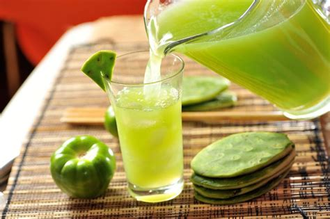 Cactus Detox Drink by The Health Benefits Of Cactus Juice Including Weight Loss