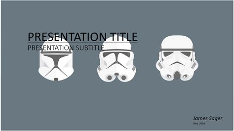 Wars Powerpoint Template