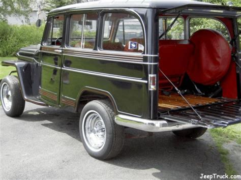 jeep wagon for sale willys wagon jeeptruck com jeeps for sale 1961