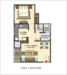 1 Bhk Floor Plan Casa Rio Unit Plans 171 Casa By Lodha