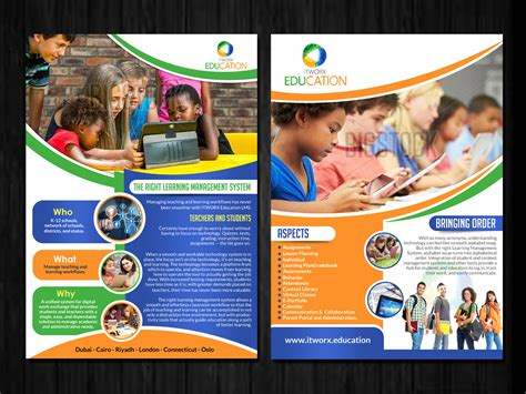 leaflet design for tuition check out this flyer design for sarah abdel rahman