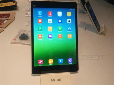 Tablet Xiaomi Mi3 Xiaomi Mipad Unveiled In India Apple Mini Rival Coming Really Soon Gizbot News