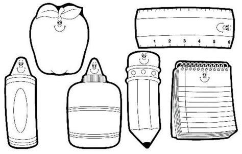 imagenes de utiles escolares en ingles para imprimir imagenes infantiles para colorear utiles escolares imagui