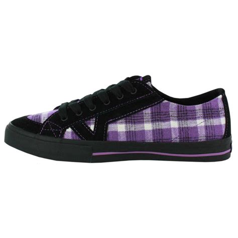 Vans Kress Black Suede vans purple suede canvas womens trainers shoes ebay