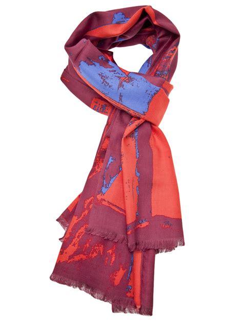 vivienne westwood new flag scarf in lyst