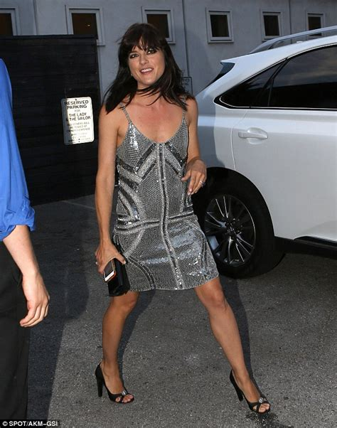 The Look For Less Selma Blair by Selma Blair S Up The In Minidress At A List