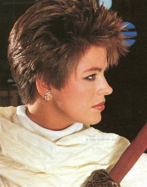 1980 spiked shag short hairstyles from the 80 s 80s short hairstyles for