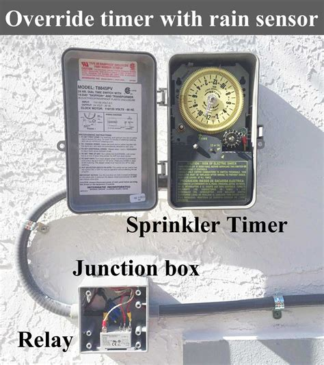 intermatic sprinkler timer wiring diagram wiring diagram
