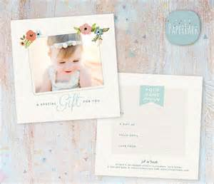 Gift Certificate Template Psd by Photography Gift Certificate Template 8