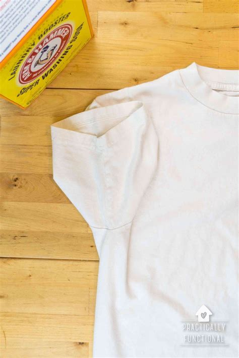 how to remove sweat stains from colored shirts how to remove yellow sweat stains from your clothes the
