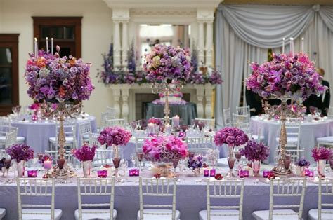 purple silver and white wedding table decorations modern purple wedding reception decorations with your