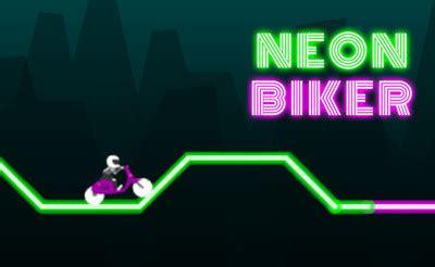 neon biker jeux de   jeux