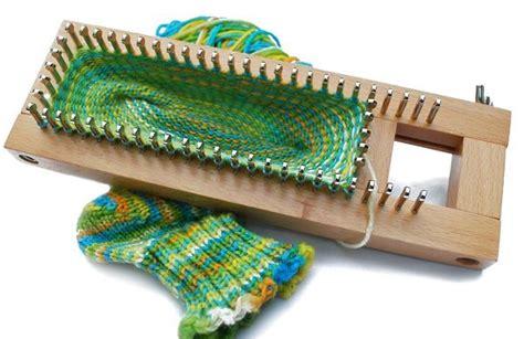 how to use a knitting board sock loom 1 knitting board adjustable loom inc dvd