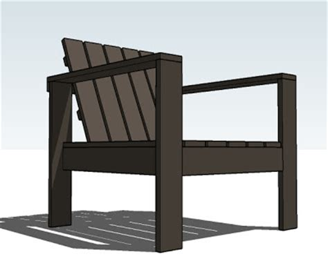 patio chair plans furnitureplans