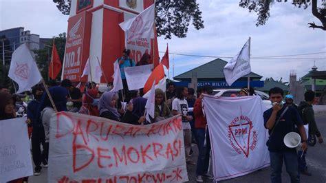 Buku Rapor Merah Demokrasi sumpah pemuda pers mahasiswa keluarkan tuntutan terkait