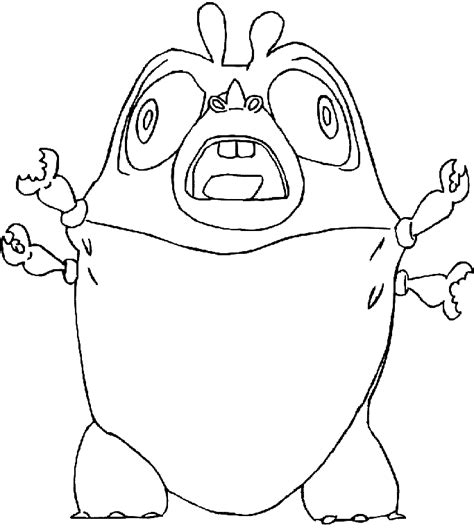 monster vs aliens coloring pages az coloring pages