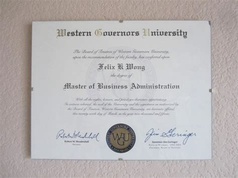 Western Governor S Mba Reputable by How Quickly Has Anyone Finished A Masters Degree From